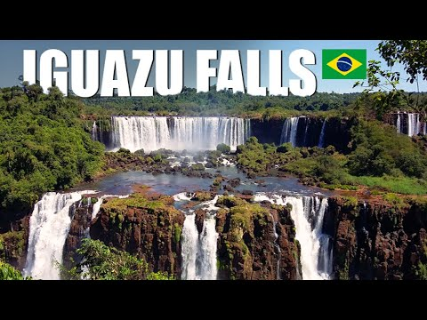 IGUAZU FALLS: Brazilian vs Argentinian side | Travel Series [S1-E1] - South America 2017