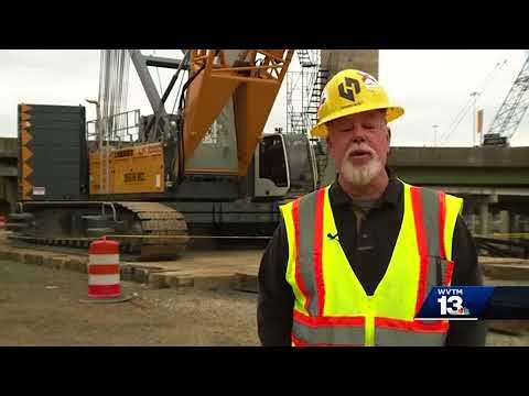 Dozens of cranes giving downtown bridges a facelift