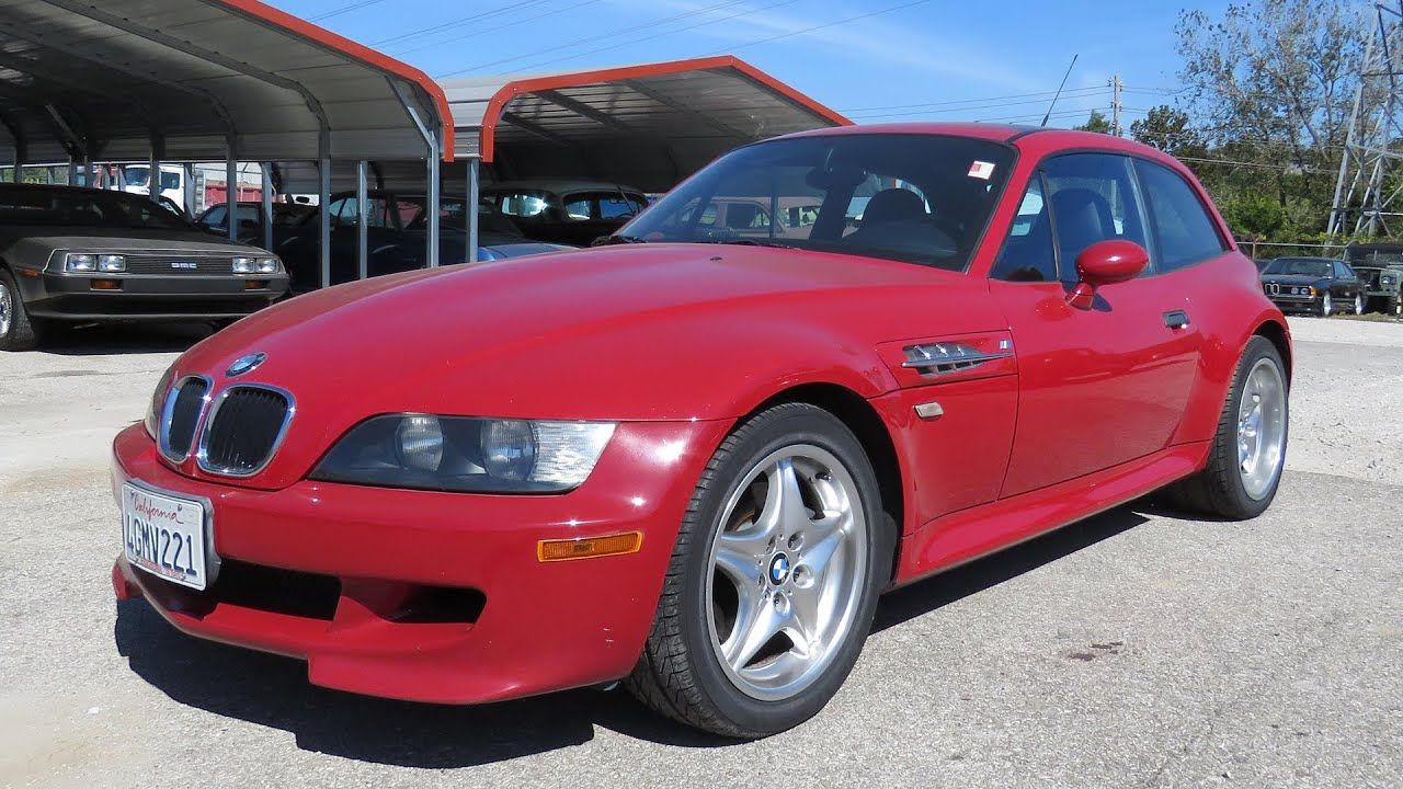 BMW Z M Coupe Speed Full Tour Start Up YouTube - 1999 bmw z3 m roadster