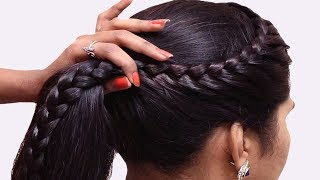 How to do French Braid Hairstyles for girls | Hair style girl | Party Hairstyles