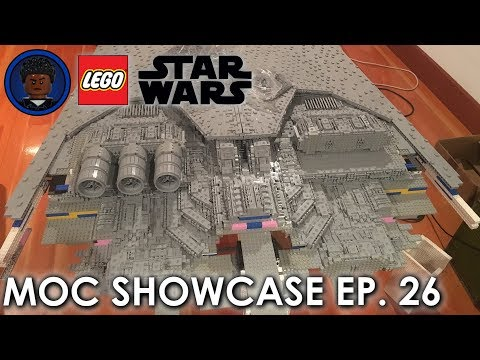 This MADMAN Is Building A 13 FOOT 71,000 PIECE LEGO SUPER STAR DESTROYER - LSW MOC Showcase 26