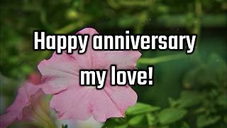 Happy anniversary wishes - happy marriage anniversary wishes - Quotes, Greetings and Messages Video