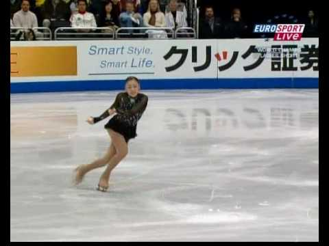Queen Yu-Na Kim 2009 World SP - Danse Macabre [Euro English]