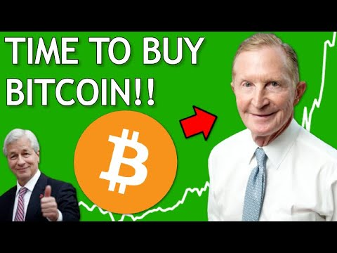 TIME TO BUY BITCOIN! Says Ex-Prudential CEO George Ball & Jamie Dimon a Crypto Convert