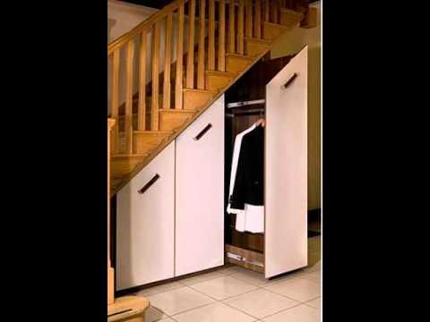 Under Stairs Storage Youtube | Wardrobe Design Under Stairs | Hallway Storage | Basement Stairs | Stair Case | Living Room | Shoe