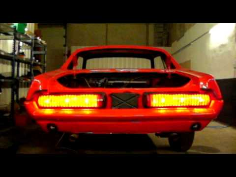 mercury cougar 68 taillights with led bulbs mit led. Black Bedroom Furniture Sets. Home Design Ideas