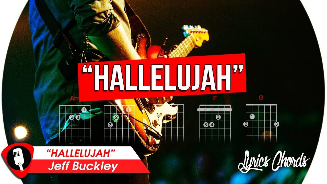 Hallelujah jeff buckley lyrics chords youtube hallelujah jeff buckley lyrics chords hexwebz Image collections