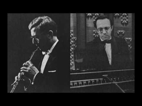 Ronald Roseman & Gilbert Kalish play Hindemith Sonata for Oboe & Piano