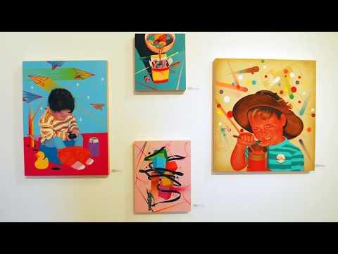Eye Candy - A Junk Food Artist Collective - Art Show at The Robert Berman Gallery