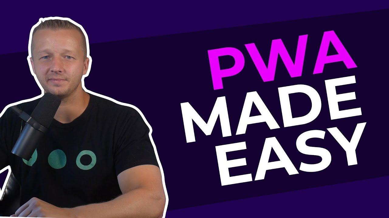 PWA's Made Easy with Ionic 4 / Angular - Tutorial