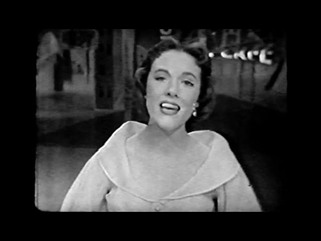 "Julie Andrews - ""I Could Have Danced All Night"" (The Dinah Shore Chevy Show, 1958)"