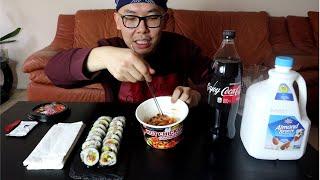 Fire Noodles mukbang 먹방  불닭볶음 …