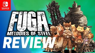 FUGA: Melodies of Steel REVIEW Nintendo Switch GAMEPLAY | PC STEAM RPG Impressions 戦場のフーガ レビュー