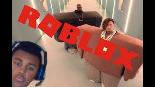 Playing Roblox w/ Kanye and Lil Pump