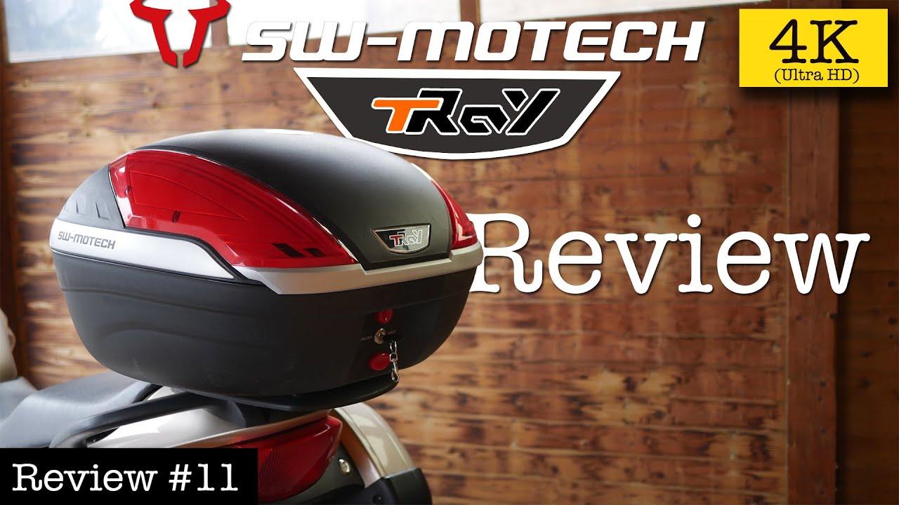 f/ür Roller TRESKO/® Motorradkoffer//Helmkoffer Mofas und Quads Topcase universal Motorr/äder 24 Liter F/üllvolumen