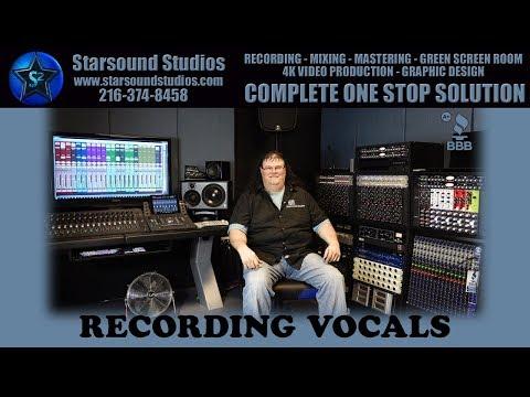 Recording Vocals | Recording Studio Cleveland Ohio | Starsound Studios | Best Recording Studio | ⭐✅
