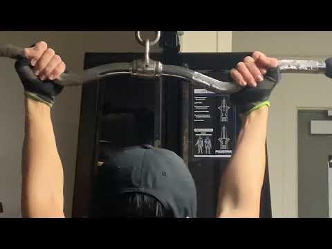 Reverse Grip Pulldown