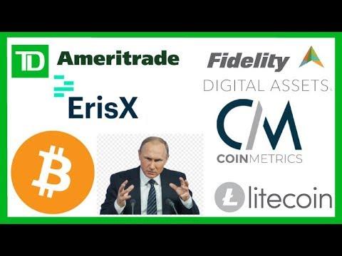 TD Ameritrade Crypto Ads - Fidelity CoinMetrics - Gemini - Putin Crypto - Litecoin Glory Kickboxing