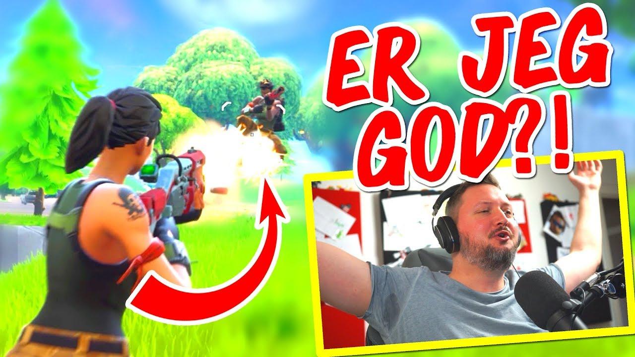 ER JEG GOD SOLO?! - Fortnite Dansk