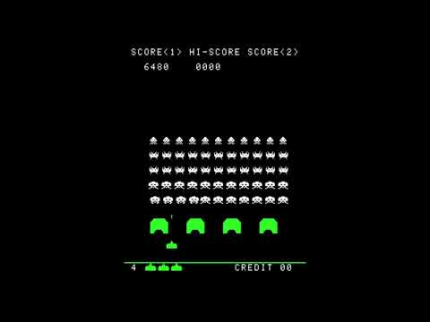 Space Invaders - 73,720 points - Stage 36 - High Score (personal)