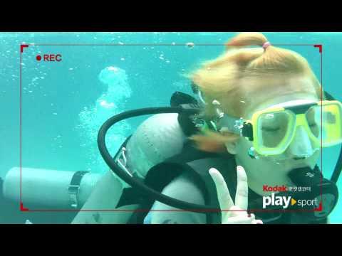 [팔라우여행] 스티커 in 팔라우, 수중영상 / in the Palau water/하나투어 스티커
