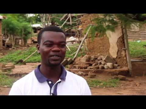 A teacher describes the village of Abenta, Ghana