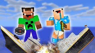 НУБЫ ПРОТИВ КОРАБЛЬ ПРОФЕССИОНАЛОВ С ЗОМБИ! КРУШЕНИЕ В Minecraft! Майнкрафт сериал мультик