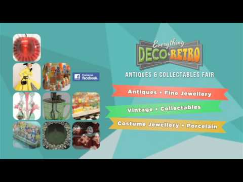 Everything Deco to Retro Fair Brisbane July 2015