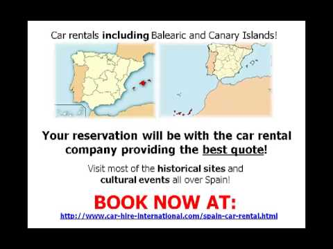 car rental in spain the cheapest all inclusive for your. Black Bedroom Furniture Sets. Home Design Ideas