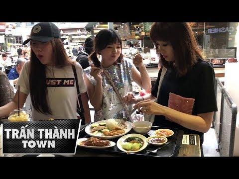 Toàn cảnh ăn bất chấp, quên cả tên mình của HARI WON, mẹ vợ và em TRẤN THÀNH ở Thái (30/11/2017)
