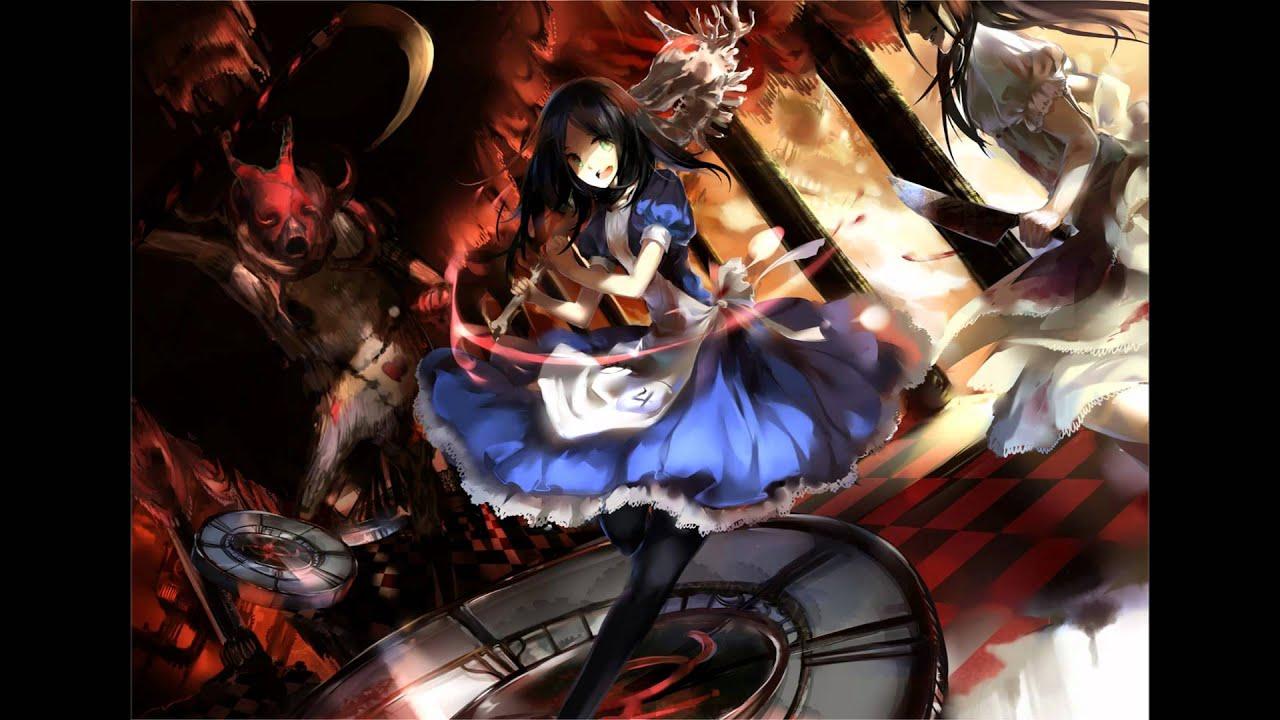 Anime Bad Girl Wallpaper Nightcore Meets Avril Lavigne Alice In Wonderland Youtube