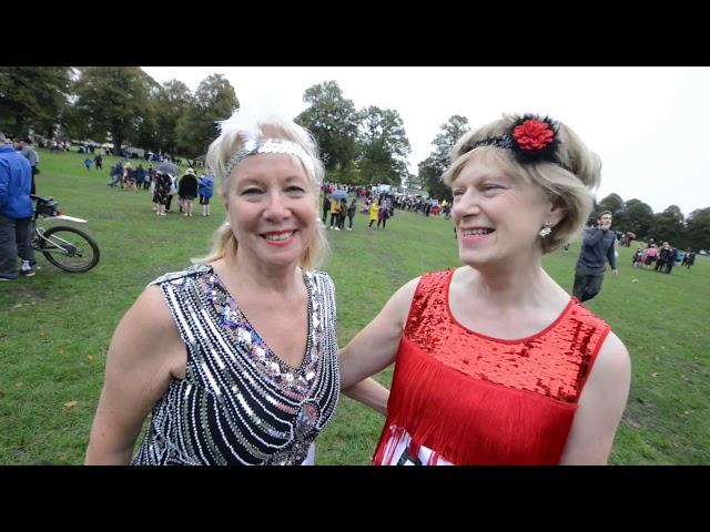 Charleston world record attempt in Shrewsbury Quarry