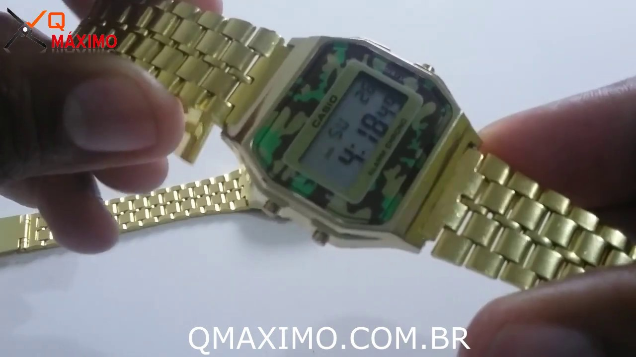 af85e6c6e86 Como Ajustar a Pulseira do Relógio CASIO VINTAGE e modelos semelhantes -  QMAXIMO