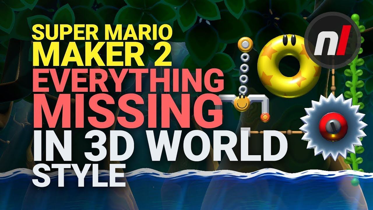 Preview: Things We've Learned Playing Super Mario Maker 2 - Nintendo