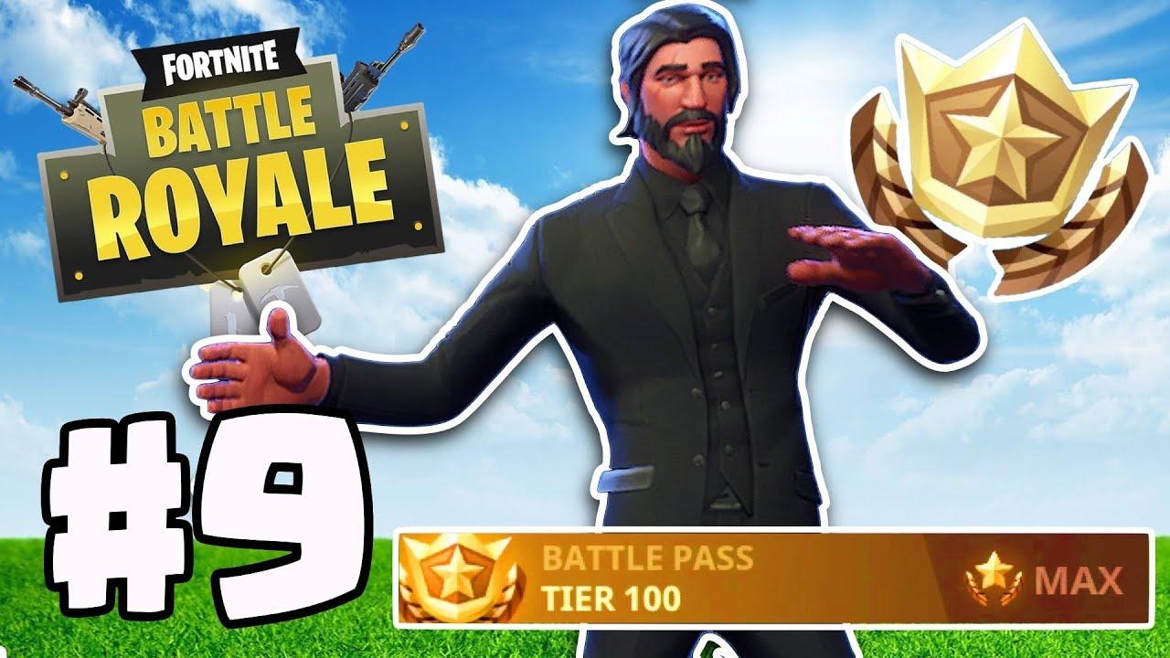 Buying Max Level John Wick Fortnite Battle Royale Gameplay