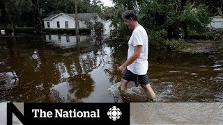Record-breaking hurricane makes landfall as Category 4 storm