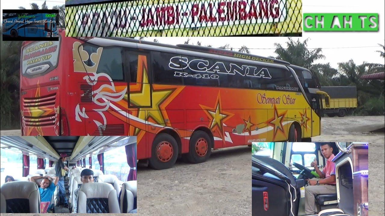 Pagi di depan Rumah Makan Tuah Sakato Kandis, bus Sempati star asal ujung sumatera Aceh,  istirahat,