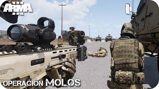 MISIÓN COOPERATIVA | OPERACION MOLOS | ArmA 3 Gameplay Español (1440p60 HD)