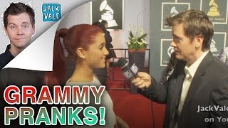 Pranks at the Grammys