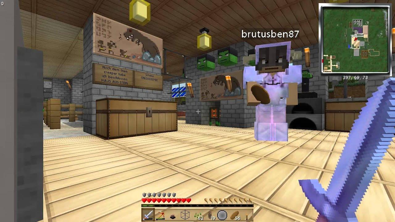 B Team Minecraft Attack Of The B Team Liquid XP Da Ist Sie - Minecraft hauser aus stein