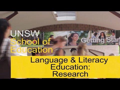 Dr Phiona Stanley, Language & Literacy, School of Education, UNSW Australia