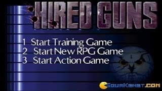 Hired Guns gameplay (PC Game, 1993)