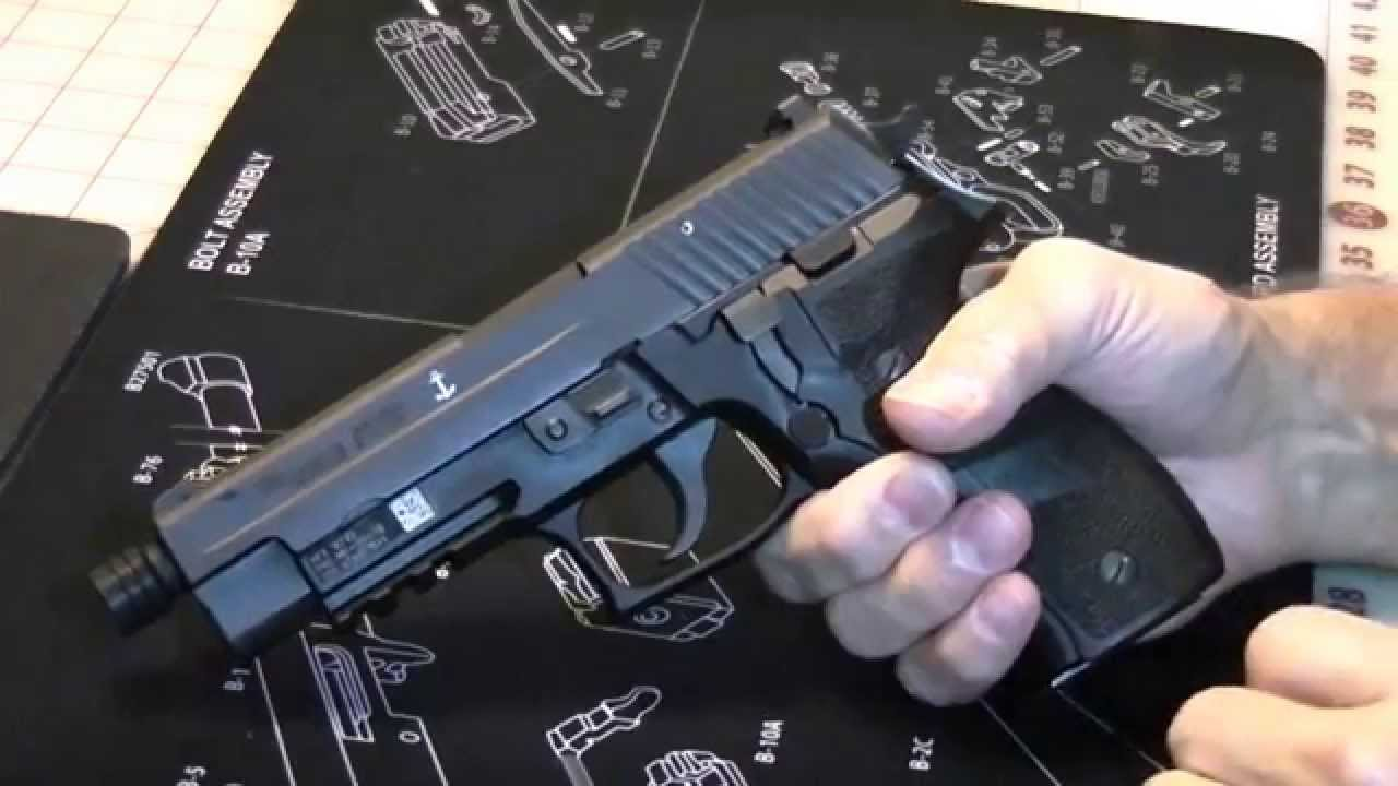 Sig Sauer P226 - MK25-TB (Threaded Barrel) in 9mm