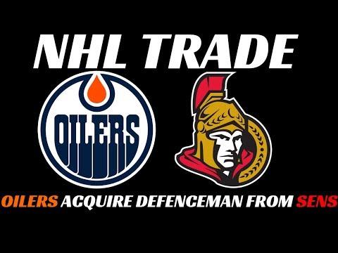 NHL Trade - Senators trade Wideman to Oilers