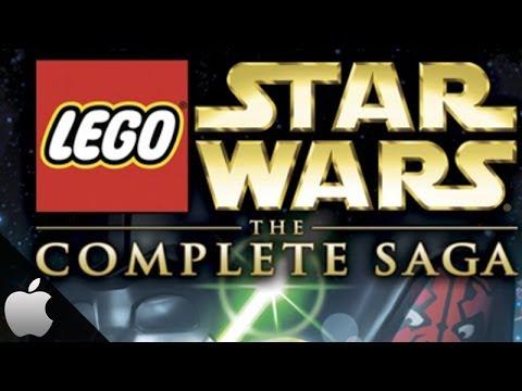 LEGO STAR WARS iPAD 4 iOS GAMEPLAY - THE COMPLETE SAGA