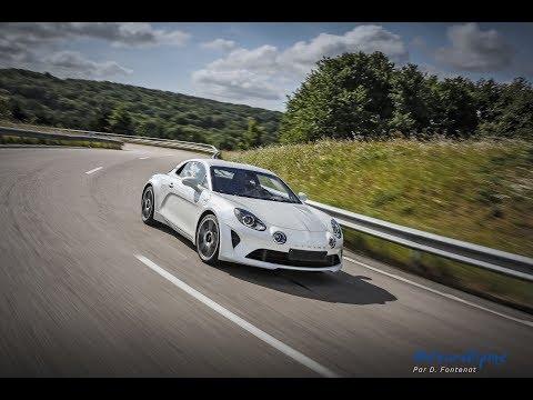 Test de la nouvelle Alpine A110 sur piste en exclusivité mondiale !