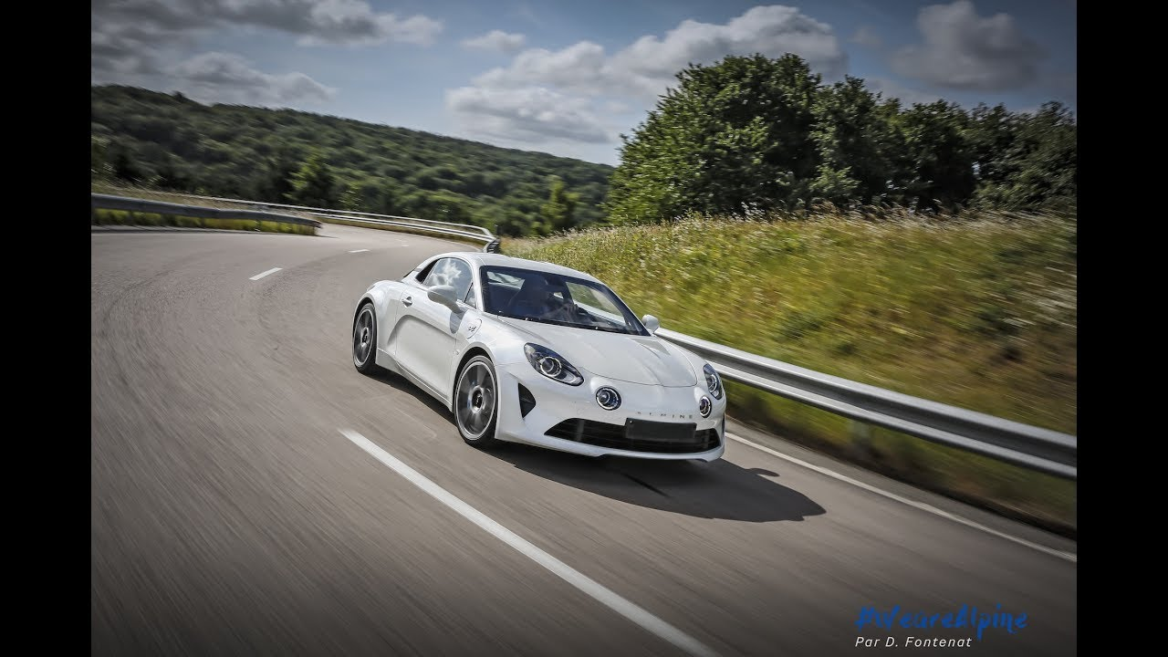 test de la nouvelle alpine a110 sur piste en exclusivit mondiale youtube. Black Bedroom Furniture Sets. Home Design Ideas