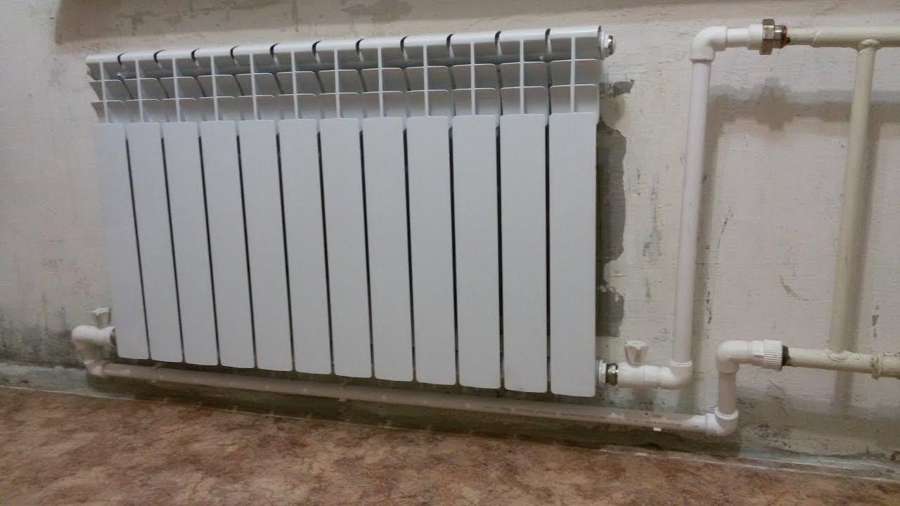 Установка радиаторов отопления ленинградка