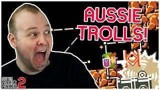 The Trollden Experience // An AUSSIE Troll Level! [Super Mario Maker 2]