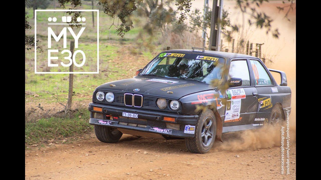 BMW E IX RALLY GRAVEL PateHermes OURIQUE YouTube - Bmw 325ix